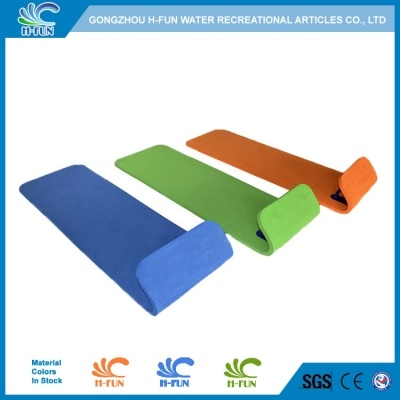 Multi-color EVA water park slide head first racer mat