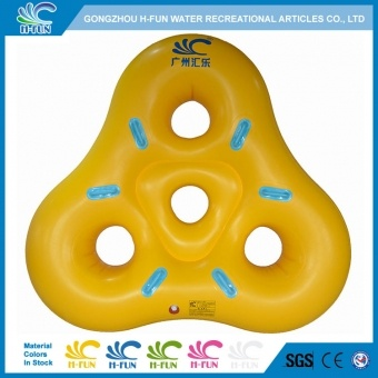 water park inlfatable triangle tubes