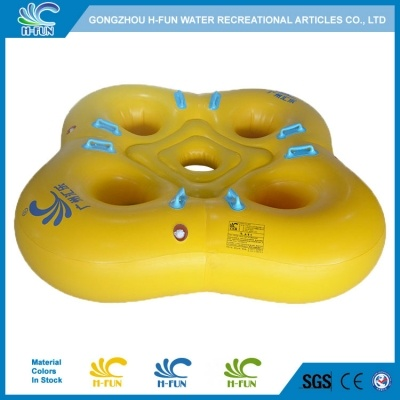 Safe Design Water Park 4 Person Tube