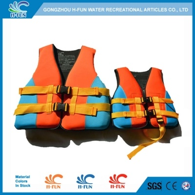 Neoprene/PEF with EPE water park life jackets