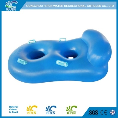 Water Slide Double Tube with Backrest 42