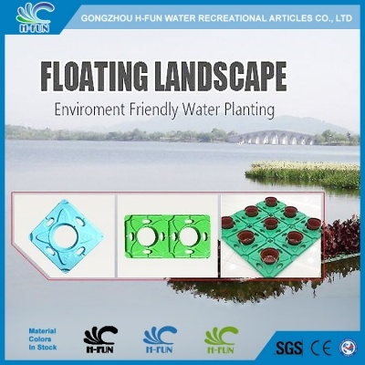 HDPE Floating Landscape, Floating Wetland