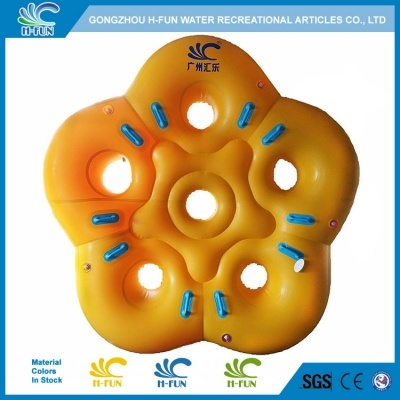 Customize Water Park 5 Person Tube with Separate Air Chamber