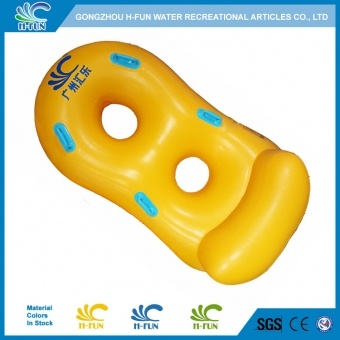 Water park Double Tube with Backrest