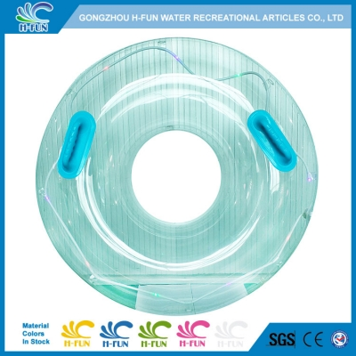 New Water Park Tube With Twinkle Lights for Lazy River & Wave Pool Floats