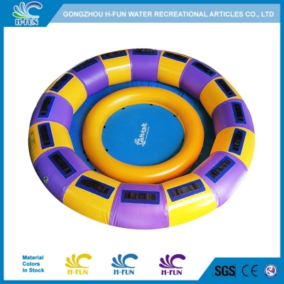 6 Person Slide Round Raft with Airbag Seats
