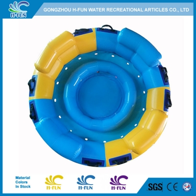 Water Park round raft with backrest and airbag seats