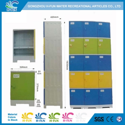 Assembly ABS Lockers with RFID Lock, school lockers