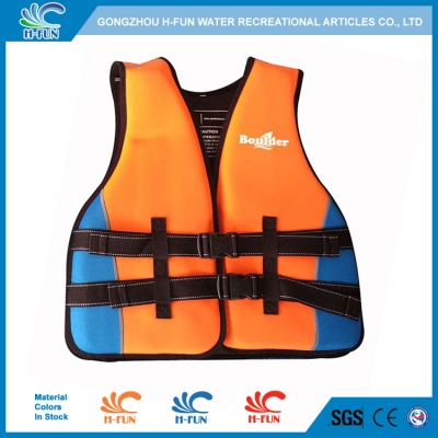 Neoprene with EPE water park life vest for adults
