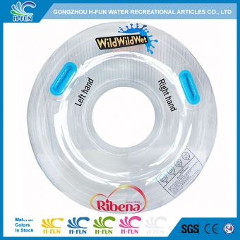 transparent water park tubes