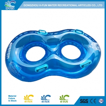 Clear water park double tube