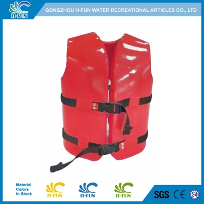 Vinyl coated NBR foam life jackets for water park