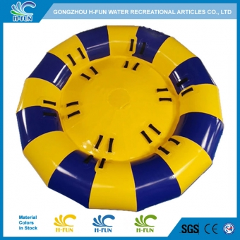 inflatable disco boat towable tube