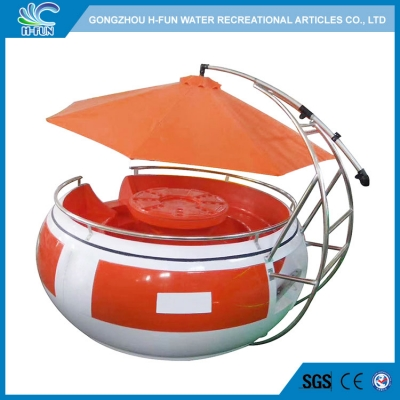 LDPE BBQ grill boat with sunshade