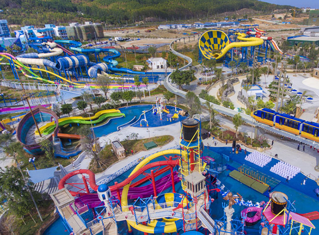 Congratulations to the opening of Hainan Fuli Mytikas Waterpark