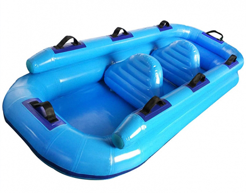 H-Fun Team Designed New Inflatable Three Person Raft Tube for Our Customer