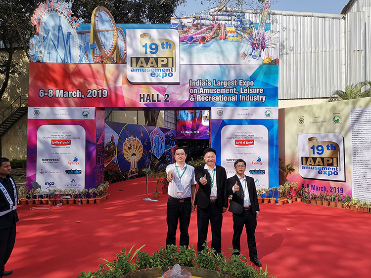 H-Fun Team Attended Mumbai IAAPI Expo 2019