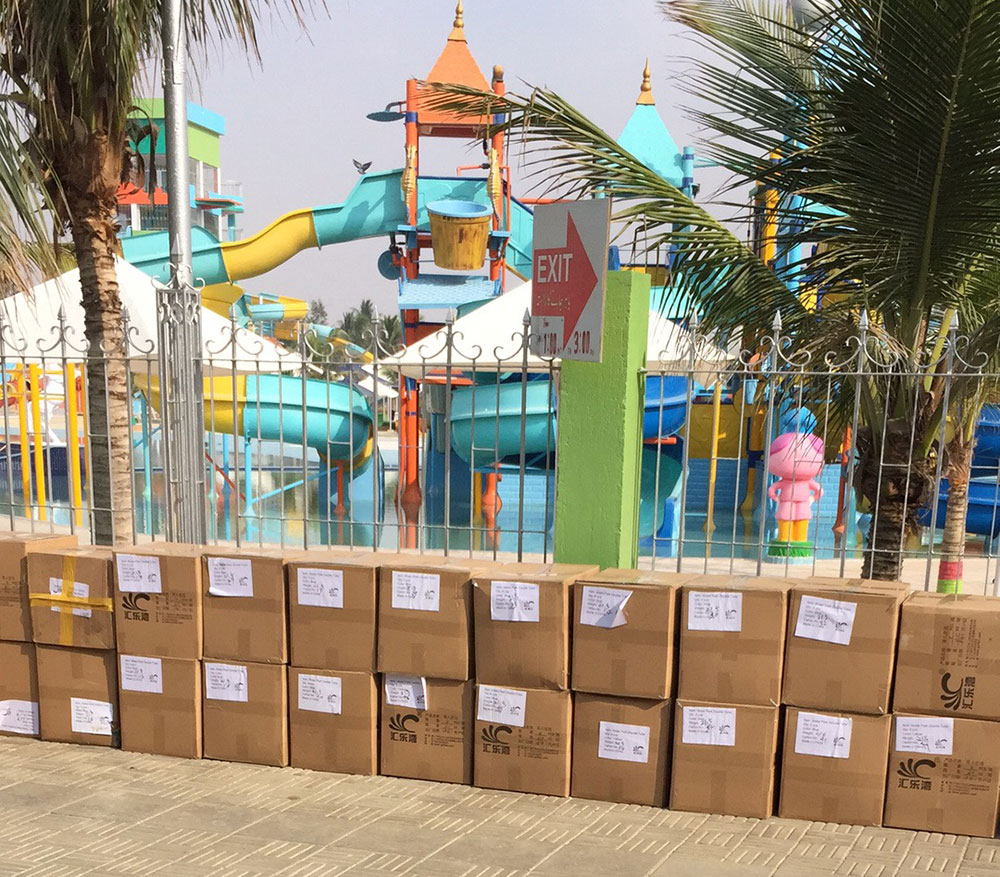 H-Fun Supplied Water Recreational Articles to Pakistan Water Park
